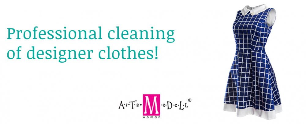 Professional cleaning of designer clothes